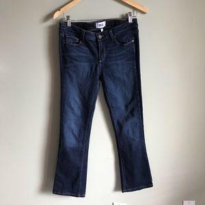 Paige Mid-rise Bootcut Manhattan Jeans